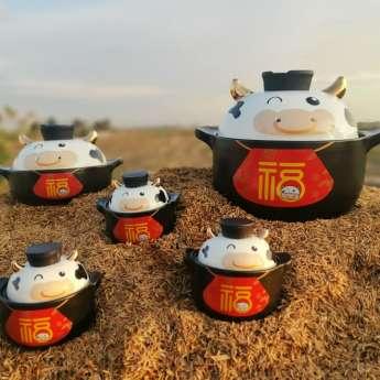幸福牛-陶瓷锅具系列